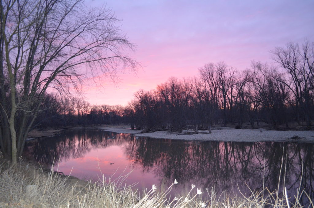 Blue Grass Channel at Sunrise