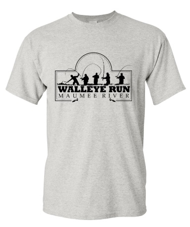 The Maumee River Walleye Run T-Shirt